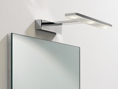 Lampada da specchio a LED orientabile in acciaioZIP - ASTRO LIGHTING