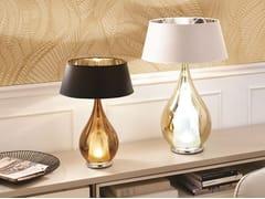 Lampada da comodino in vetro borosilicato metallizzatoZOE | Lampada da comodino - CANGINI & TUCCI