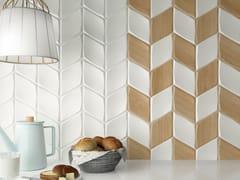 ZYX, ZOOM Rivestimento in ceramica a pasta bianca