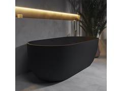Vasca da bagno ovale in Solid SurfaceZURICH   Vasca da bagno - RILUXA