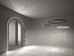 Lampada a sospensione a LED a luce diretta in alluminioA.24 | Lampada a sospensione - ARTEMIDE