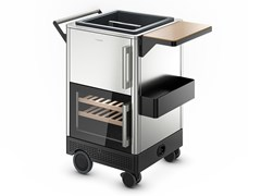 Mobile bar / carrello portavivande outdoor in acciaio DOMETIC MOBAR 300 - DOMETIC GROUP
