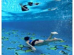 Mosaico antibatterico in vetro riciclatoPAPÚA TURTLES - HISPANO ITALIANA DE REVESTIMIENTOS