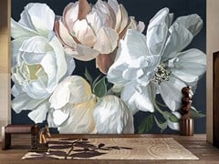 BLOSS, GILDA Carta da parati ecologica con motivi floreali senza PVC