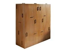 Credenza in legno con ante a battenteTAURO | Credenza in legno - LOLA GLAMOUR