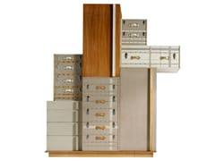 Armadio in legno con cassettieraSUITCASE | Armadio - LOLA GLAMOUR