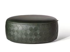 Pouf ovale in pelleGRANT DE LUXE | Pouf ovale - POLTRONA FRAU