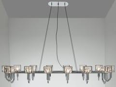 LAMPADA A SOSPENSIONE IN METALLO E CRISTALLOA03C1 | LAMPADA A SOSPENSIONE - PATRIZIA GARGANTI