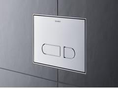 Placca di comando per wc in plasticaA1 | Placca di comando per wc - DURAVIT
