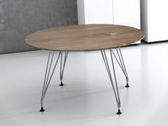 Tavolo da riunione rotondo in laminatoA1 MEETING | Tavolo da riunione rotondo - BK CONTRACT EQUIPMENT