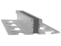 Giunto di frazionamento in metallo e PVC A3 | Giunto per pavimento -
