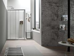 Box doccia rettangolare con porta scorrevole A4 - 170 X 70 | Box doccia con porta scorrevole -