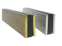 Giunto di frazionamento in metallo e PVC A4 | Giunto per pavimento -
