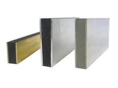 Giunto di frazionamento in metallo e PVC A8 | Giunto per pavimento -