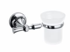 Portaspazzolino a muro in metallo ABCA02A | Portaspazzolino - Accessori Bagno Classici