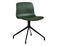 Sedia girevole in polipropilene con cuscino integratoABOUT A CHAIR AAC10 | Sedia con cuscino integrato - HAY