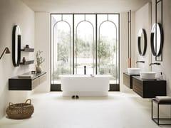 Mobile lavabo doppio con lavabo integratoABSOLUTE 30 - ARBI ARREDOBAGNO
