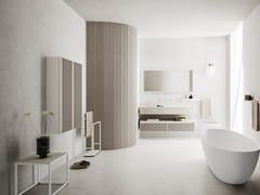 Mobile lavabo singolo con porta asciugamaniABSOLUTE 31 - ARBI ARREDOBAGNO