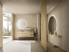 Mobile lavabo singolo con specchioABSOLUTE 33 - ARBI ARREDOBAGNO
