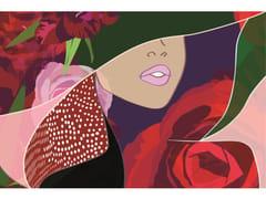 Stampa artistica in pannello di alluminioABSTRACT PATTERN WOMAN - MONDIART INTERNATIONAL