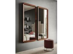 Specchio rettangolare in metallo verniciato con cornice da pareteACE - APP DESIGN