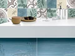 Rivestimento in ceramica per interniACQUA - CERAMICHE BRENNERO