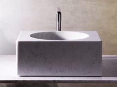 Lavello / lavabo in marmoCUVE - OBJETS ARCHITECTURAUX
