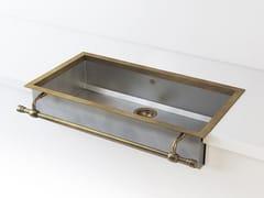 Lavello a semincasso a una vasca in metalloACSSEMB00 | Lavello a una vasca - OFFICINE GULLO