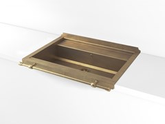 Lavello a una vasca da incasso in metalloACSSETA00 | Lavello a una vasca - OFFICINE GULLO