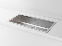 Lavello a una vasca da incasso in metalloACSTOPB00 | Lavello a una vasca - OFFICINE GULLO