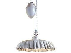 Lampada a sospensione regolabile in ceramicaMODENA | Lampada a sospensione regolabile - FERROLUCE