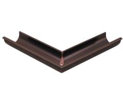 Angolo esterno per canale di gronda a doppia parete in PVCAEG86 - FIRST CORPORATION