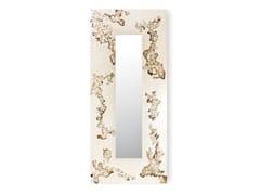 Specchio rettangolare da parete con cornice AFRICA FLOWING | Specchio rettangolare -