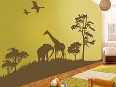 Adesivo da parete per bambiniAFRICAN GRAND SAFARI - ACTE DECO