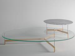 Tavolino da caffè con piano in vetroAFTER9 | Tavolino in vetro - T.D. TONELLI DESIGN