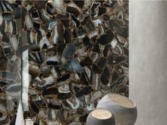 Pavimento/rivestimento in gres porcellanato effetto marmoAGATA BLACK - ARIOSTEA