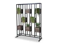 Fioriera / schermo divisorio da giardino in alluminio verniciato a polvereAIKO | Schermo divisorio da giardino - MAMAGREEN