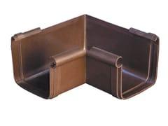 Angolare interno bi-system per canale di grondaAIQM - FIRST CORPORATION