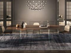 Tavolo rettangolare in XGlassAIR | Tavolo rettangolare - LAGO