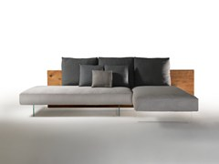 Divano in tessuto con chaise longueAIR WILDWOOD | Divano - LAGO