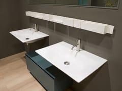 Lavabo rettangolare singolo in stile modernoALA90 - ANTONIO LUPI DESIGN®