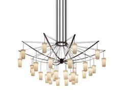 Lampada a sospensione a LED in alabastroCATENARIA | Lampada a sospensione in alabastro - LEDS-C4