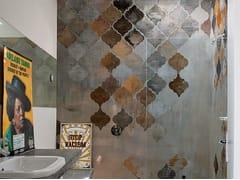 Wall&decò, ALADINO Carta da parati effetto muro per bagno