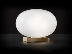 Lampada da tavolo in ottone e vetroALBA - 265 - OLUCE