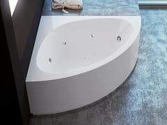 Vasca da bagno angolare idromassaggio in acrilicoALESSIA - RELAX DESIGN