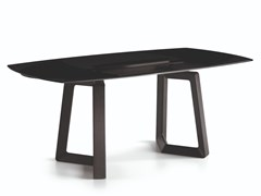 Tavolo allungabile rettangolare in vetroALIANTE | Tavolo rettangolare - NATUZZI