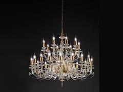 Lampadario con cristalli Swarovski® ALICANTE L16+8 - Alicante