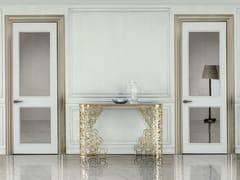 Porta a battente in legno e vetro ALLEY | Porta a battente - Aluminium Chic
