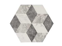 Rivestimento in gres porcellanato effetto marmoALLMARBLE FLOOR | Decoro Altissimo - MARAZZI GROUP