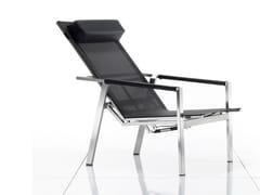 Sedia a sdraio reclinabile con braccioliALLURE | Sedia a sdraio - SOLPURI